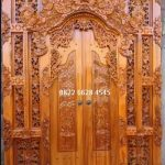 Pintu gebyok bali sytle ukir klasik dan modern