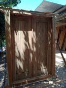 Pintu gebyok Minimalis Polos